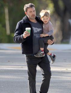 Ben Affleck & His Breakfast Buddy