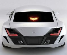 Batman Brake Decal, $10.89...More info: http://www.realcoolgadgets.com/batman-brake-light-cover/  #batman #car #brake #decal