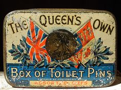 The Queen's Own, vintage tin