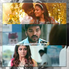 Treat me like a #queen! Only then I'll treat you like a #king  #quotes #rajarani #jai #nayanthara