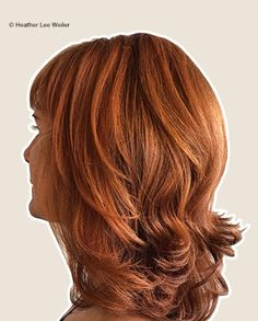 Hair by Heather Lee Weiler Grey Coverage: 20g Oway Hcolor 6.0 Natural Dark Blonde + 15g Oway Hcolor 6.34 Golden Copper Dark Blonde + 20g Oway Hcolor 7.44 Deep Coppery Blonde Balayage Lightened to Level 8  Toner: 20g Oway Hcolor 7.44 Deep Coppery Blonde + 10g Oway Hcolor 8.44 Deep Coppery Light Blonde + Oway Htone 9 Volume Cream Developer Processing Time: 20mins