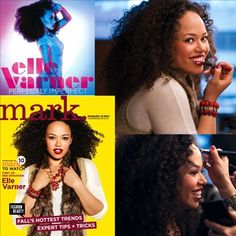 """#ElleVarner on the cover of mark Magalog 10! """"I first learned about mark. from my cousins. They are beauty and fashion junkies and I'm so glad they introduced me to the brand. This partnership is a dream come true!"""" -Elle Varner quote from inside mark Magalog 10"""