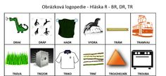 obrázková logopedie R Psychology, Education, Learning, Logos, Psicologia, Studying, Logo, Teaching, Onderwijs