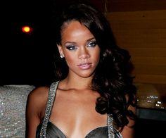 Rihanna-wedding makeup look and hair