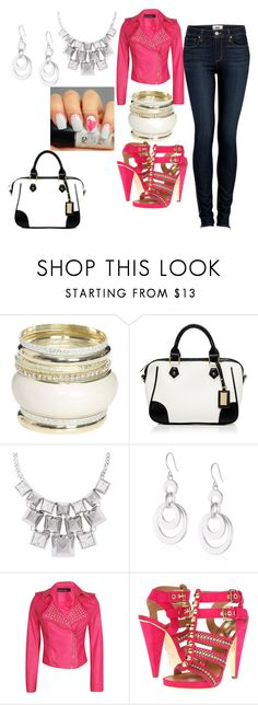 """""""Untitled #435"""" by svhs2019 ❤ liked on Polyvore featuring Wet Seal, Forever New, Vince Camuto, Kenneth Cole, POL, Boohoo, Dsquared2 and Paige Denim"""