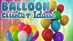How to make a cluster with 5 Balloons || Balloon Cluster Ideas | WOW Jun...