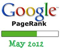 Google Pagerank Update May 2012!