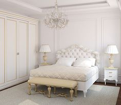 41 Impressive Victorian Bedroom Design Ideas For Your Room Classic Bedroom Furniture, Classic Bedroom Decor, French Bedroom Decor, White Bedroom Design, White Bedroom Decor, Bedroom Ideas, Bedroom Décor, Small Master Bedroom, Traditional Bedroom