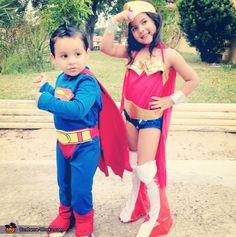 Super Heroes - Halloween Costume Contest via @costumeworks