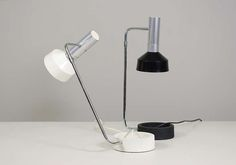 1stdibs.com   A Pair Of Table Lamps By Rosemarie & Rico Baltensweiler, Switzerland 1961