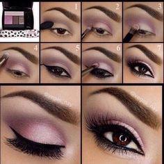 Pink eye makeup tutorial