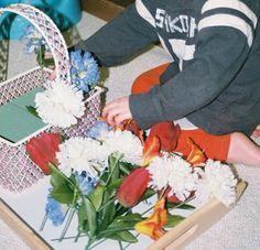 Simply Montessori: Flower Arranging....