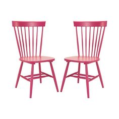 Darby Dining Chairs - Set of 2 in Pink