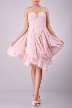 Knee Length Strapless Sweetheart Cocktail Dress Price : $179.99 Free Shipping!