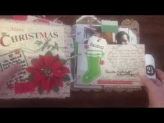 (251) My December Daily -  Christmas in July - days 21-25 2014   dearjuliejulie - YouTube