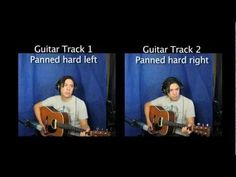 How to Record Stereo Acoustic Guitar - Professional Recording Techniques - http://afarcryfromsunset.com/how-to-record-stereo-acoustic-guitar-professional-recording-techniques/