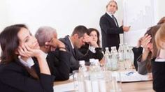 How to look interested in a boring meeting - BBC News