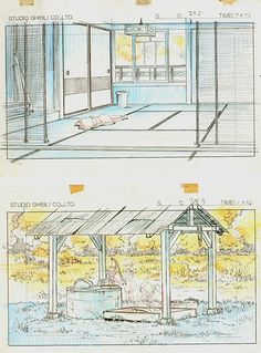 Film: My Neighbor Totoro ===== Layout Design: Time Around The House