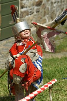 A very handsome knight...  Little Knight by anadelmann, via Flickr