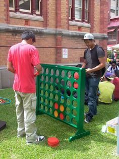 giant connect four projects to try pinterest outdoor games