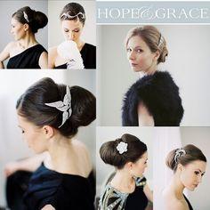 Hope and Grace - Wedding Blog stylish accessories at www.hopeandgrace.co.uk International delivery available #weddingstyle #glamour #stylishwedding #gatsby
