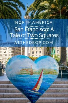 San Francisco's Union and Alamo Squares seem very different. But each reflects an important part of the city's character. Come explore the differences.