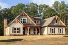 Mid-Sized Craftsman House Plan with Up To 4 Bedrooms - - 02 - House Plans, Home Plan Designs, Floor Plans and Blueprints