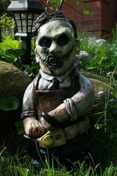 Horror Garden Gnomes - Leatherface