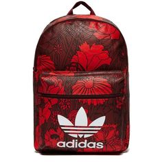 adidas Originals Classic Flowers Backpack ( 46) ❤ liked on Polyvore  featuring bags f435144d407e4