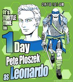 Dope Cartoons, Dope Cartoon Art, Ninja Turtles Art, Teenage Mutant Ninja Turtles, Tortugas Ninja Leonardo, Tmnt Human, Tmnt Swag, Tmnt Leo, Turtle Time
