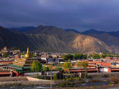 Labrang Monastery, Xiahe, Gansu, China.