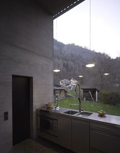 "vboseoul: ""House z Project : arch. Peter Zumthor Location : Haldenstein, Switzerland """