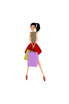 Shopping girl pack smiling vector #shopping #girlvector #vectorshopping   #vectorshoppinggirl  http://www.vectorvice.com/shopping-girls-vector