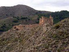 Castillo islámico de Chuecos en Águilas Murcia España