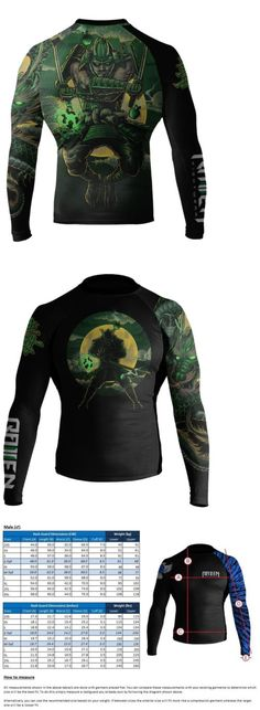 Raven Fightwear Men/'s Fire Element BJJ MMA Rash Guard