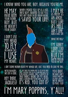 Yondu by MacGuffin Designs One of three posters custom made for on Etsy The post Yondu by MacGuffin Designs appeared first on Marvel Universe. Marvel Avengers, Avengers Quotes, Marvel Quotes, Funny Marvel Memes, Marvel Art, Marvel Heroes, Loki Quotes, Stormtrooper, Darth Vader