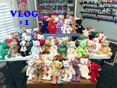 187db4aa840 MOVING VLOG  1- TY BEANIE BABIES COLLECTION   PACKING