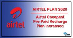 Airtel Plan 2020: Airtel has increased its minimum recharge validity plan from Rs 23 to Rs 45, an increase up to 40% #airtelnewyearplan2020 #Airtelplan #airtelnewplan #airtelrecharge #Airtelrechargeoffer #airtel plans #airtel new plans #airtel 148 plan details #airtel minimum recharge per month #truly unlimited pack airtel #airtel recharge plan list 2019