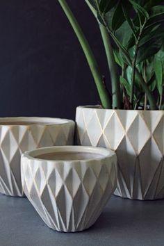 geometric pots - Google Search