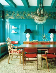 Magical. Xk #kellywearstler #myvibemylife #bejweled ... turquoise wall color / paint