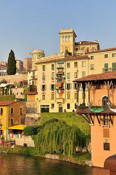 Bassano si fa bella per l'Adunata.... province of Vicenza ....  ... Veneto region.......ITALY