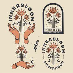 Design Logo, Vintage Logo Design, Badge Design, Icon Design, Branding Design, Vintage Logos, Vintage Branding, Art Design, Henri Matisse