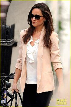 Pippa Middleton's Pink Blazer