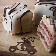 petit fours: step by step with photos