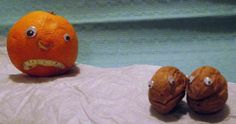 Mr Angry Orange and friendship