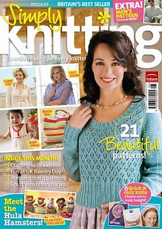 Ravelry: Simply Knitting 57, August 2009