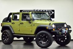 custom jeep wrangler unlimited texas - Google Search