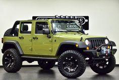 custom jeep wrangler unlimited texas - Google Search
