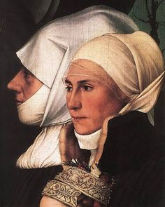 1528 Hans Holbein the Younger (1498-1543) Detail Darmstadt Madonna