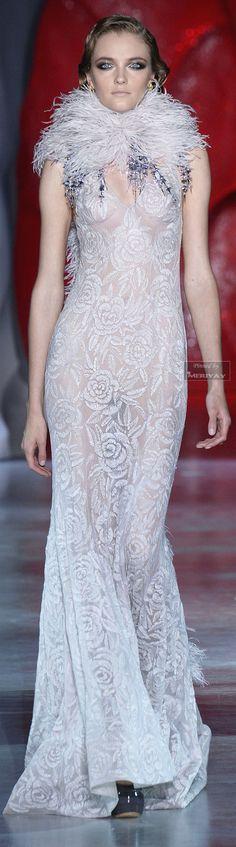Ulyana Sergeenko Fall-winter 2014-2015.. Looks like a gown from the 30's. TG
